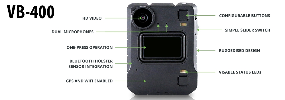 Introducing the VB-400 and VT-100 body-worn video cameras